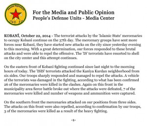 YPG Comunicado 22oct