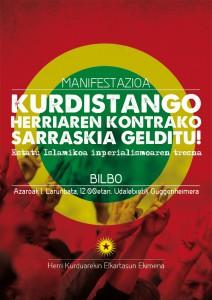 Cartel convocatoria Bilbao