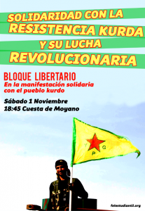 Convocatoria Bloque Libertario Madrid