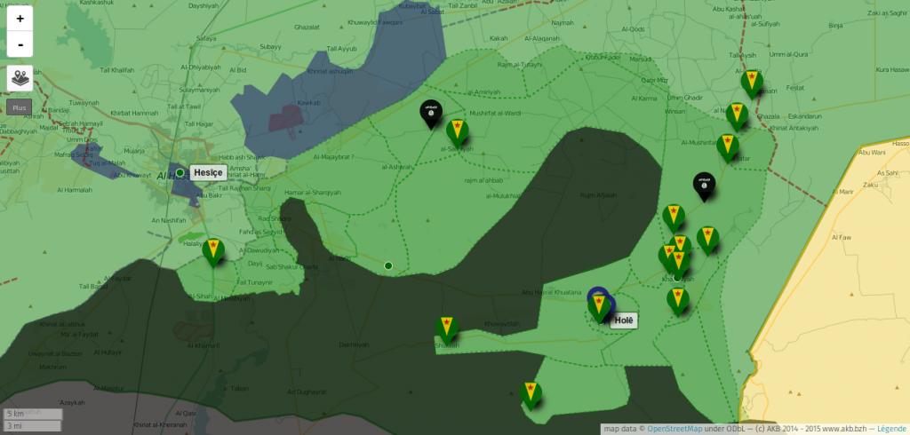 Syria front 15 nov